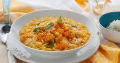 Serves 4-6   The classic Italian rice dish made with Arborio rice. This recipe combines the sweet carameli...