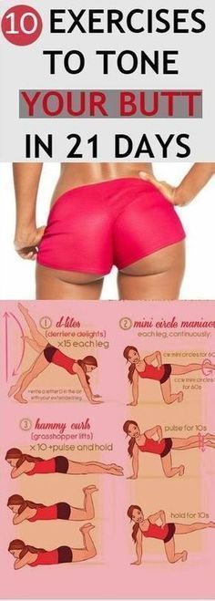 Best 10 Exercises to Tone Your Butt
