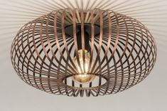 Ceiling Light Modern, Contemporary Classic, Metal, Rust Brown Bronzes rnrnSource by saskiadominique Low Ceiling Lighting, Kitchen Lighting, Interior Lighting, Lighting Design, Spot Lumiere, Bronze, Contemporary Classic, Office Makeover, New Homes