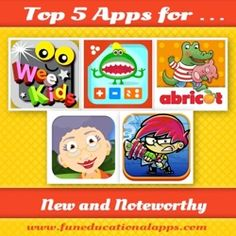 5 Great New and Noteworthy App this week - May 24 - Our favorites are ....