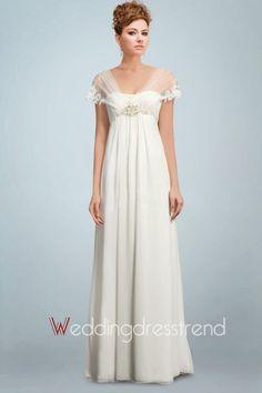 Lindos Vestidos de novia para embarazadas