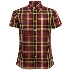 Brutus Trimfit for Dr. Martens in ox-blood. I was SO excited to get my first Brutus Trimfit shirt and with the DM colors it seemed like a win/win. So... I fork out $88 for a shirt which, though I love the design and the colors, is sub-par in many respects. Made in China of a super-thin cotton blend, it had downright sloppy stitching in many spots. Very disappointed in the quality. :(