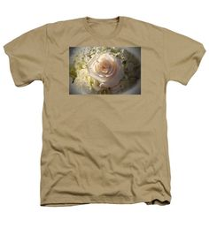 Rose Heathers T-Shirt featuring the photograph Elegant White Roses by Cynthia Guinn