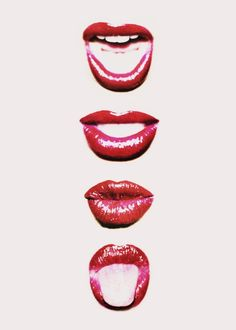 Paint the town red . and your lip's too! Moleskine, Photocollage, Lip Art, Red Lipsticks, Artsy Fartsy, Art Photography, Illustration Art, Illustrations, Graphic Design