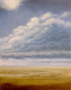 Big Norfolk Skies - 'Nimrod No.1' - Oil on Canvas by Nial Adams