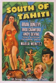 Selling original movie posters, lobby cards, and other movie memorabilia. Original vintage Hollywood memorabilia and posters from to present Action Movie Poster, Old Movie Posters, Classic Movie Posters, Movie Poster Art, Classic Movies, Old Movies, Vintage Movies, Tahiti, Movie Posters