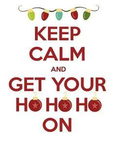 Keep calm HoHoHo