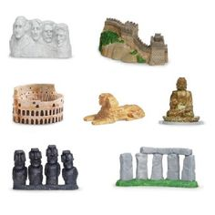 ABA teaching tools mixed with a bit of Social Studies! Find and print out pictures of each landmark. Match the object to the picture. Then introduce the name/label of each object to promote language/vocabulary!