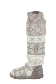 MUK LUKS Snowflake Nordic Boot