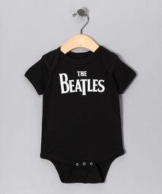 Black  Beatles  Bodysuit - Infant. Unique Baby ClothesCute ... b2dba799e