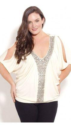 7e0ff47bb2a07 Shop Women s Plus Size Women s Plus Size Diamond Tie Top