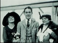 Mary Pickford, brother Jack Pickford and their mother