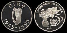 irish coin punt pound - Google Search