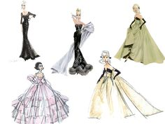 Best Fashion illustration from Robert Best | Je t'adore, Joe Chérie !