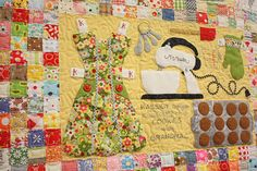 kids quilt :) have each child decorate a square and make the quilt. use the center to list the class, teacher, and year... this could even be used to raise money for the classroom if auctioned off ;)