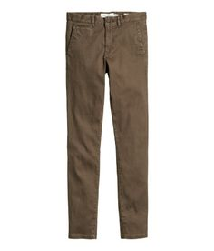 Chinos Skinny Fit | Gray | Men | H&M US