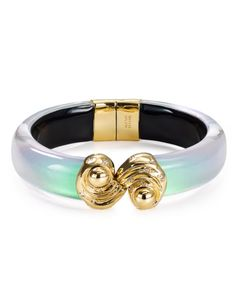 Alexis Bittar Frosted Ombre Bangle Bracelet Is34N