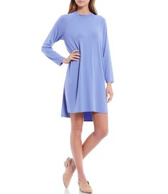 Shop for Eileen Fisher Round Neck Long Raglan Sleeve Knee Length Dress at Dillard's. Visit Dillard's to find clothing, accessories, shoes, cosmetics & more. The Style of Your Life. Eileen Fisher, Dillards, Latest Trends, Cold Shoulder Dress, Dresses For Work, Pullover, Clothing Accessories, Sleeves, Cosmetics