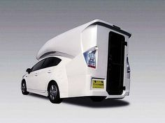 Go camping in your Prius!