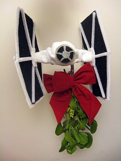 Star Wars Christmas How-To: Mistle-TIE Fighter