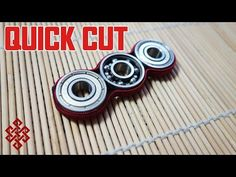 Paracord Hand Spinner Fidget Toy Tutorial - YouTube