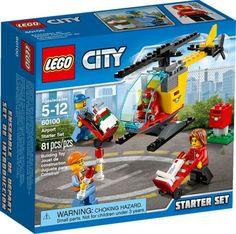 LEGO City 60100 Airport Starter Set 2016 for sale online Legos, Lego City Airport, Van Lego, Lego City Sets, Lego Ship, Lego City Police, Lego Construction, Lego News, Kit