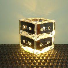 Music Lover Gift Mixtape Cassette Tape Night Light