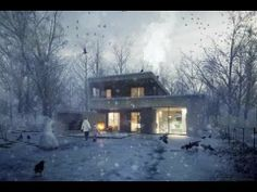 Photoshop brakdown of 'The Unbuilt House' by Hungarian based architectural visualization studio, ZOA. #archviz #architecture #visualization