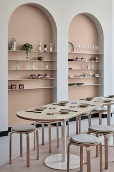 Gallery Of Merah By One Design Office Local Design And Interiors Northcote, Vic Image 2 - The Local Project Deco Design, Cafe Design, House Design, Design Design, Arch Interior, Interior Architecture, Retail Interior Design, Traditional Interior, Hospitality Design