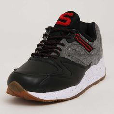 Saucony Originals Letterman Grid 9000 Black/Grey S70259-1 • STRICTLY LIMITED TO A MAXIMUM OF ONE PAIR PER CUSTOMER •