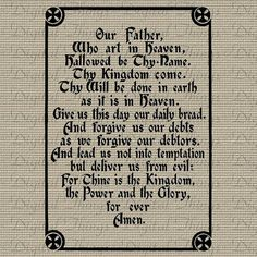 Vintage Christian Religious Bible Quote Lord's by DigitalThings, $1.00