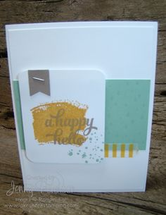 Tin of Cards stamp set, Lakeshore Stamping, Jenny M Peterson, Stampin' Up!, Stampin' Up! Demonstrator, Paper Crafting, Card Making