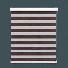 Brown Mix Two Tone Zebra Blind