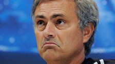 """Jose Mourinho and Roberto Mancini both insist Manchester City will win the Champions League """"sooner or later""""."""