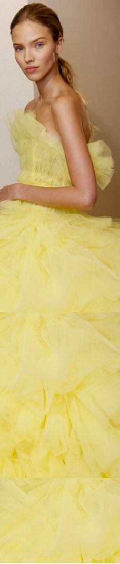 Yellow Pantone, Pantone Color, Yellow Fashion, Color Fashion, Shades Of Yellow, Happy Colors, Tulle Lace, Mellow Yellow, Summer Colors