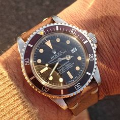 "84 Likes, 4 Comments - @ryoken1871 on Instagram: ""Rolex1⃣6⃣8⃣0⃣🍩Mark1。秋らしい🌾🍂夕陽🌅🌄でしたねー🙌。 #rolex1680 #1680 #oysterperpetual #submariner #diverwatch…"""