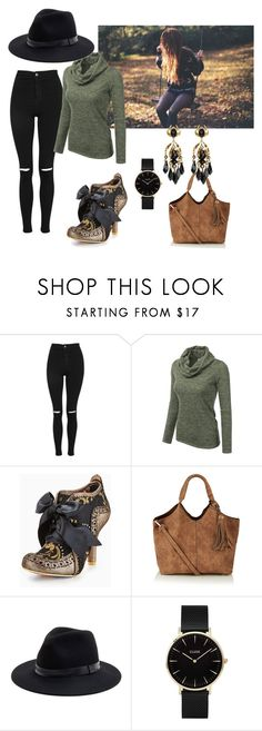 """FALLing in Love"" by alanna-765 ❤ liked on Polyvore featuring Topshop, Doublju, Irregular Choice, Sole Society, CLUSE, Gucci, love and autumn"