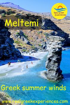 If you want to spend your summer holidays in the Cyclades, you may be wondering about the Meltemi winds. Here is some information on the windy Greek islands and how to cope with them when on vacation in Greece! Travel Destinations Beach, Europe Travel Guide, Travel Guides, Greece Vacation, Greece Travel, Santorini Sunset, Enjoy Your Vacation, Pretty Beach, Greece Islands