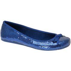 Cleo Sass Ballet plano femenino, azul marino, 7 m US