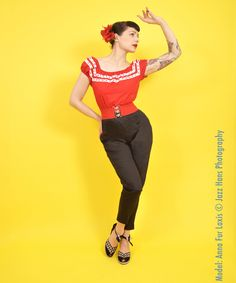 1950's Pedal Pushers From Vivien of Holloway | 1950s Dresses from Vivien of Holloway