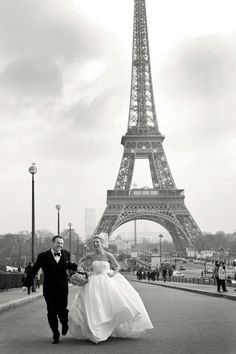 Novios en Paris