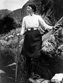 Freda Du Faur - Climbed Cook Mountain in 1910 in just six hours...in a skirt,