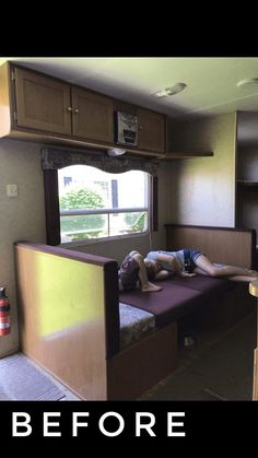 Whenever many people consider house enhancement jobs, they think in terms of doing up the living locations, such as the bed rooms, drawing room, and dining room. Travel Trailer Camping, Travel Trailer Remodel, Rv Camping, Travel Trailers, Glamping, Camping Checklist, Camping Essentials, Family Camping, Camping Hacks