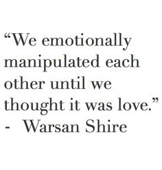 Warsan Shire ** she always says it just, it's so raw and her signature style   I'm in love with her