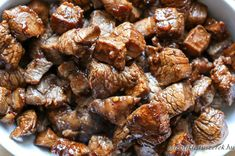 Discover thousands of recipes with the click of a mouse with Yummly. Honey And Soy Sauce, Steak Bites, Steak Recipes, Kung Pao Chicken, Wok, Sausage, Bacon, Good Food, Low Carb