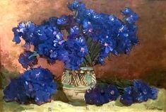 Blueness (Flowers) : Stefan Luchian : circa 1907 : Fine Art Giclee Print for sale online Art Prints For Sale, Wall Art Prints, Fine Art Prints, Poster Prints, Home Decor Wall Art, Home Art, Cool Stuff For Sale, Affordable Art, Print Artist