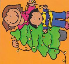 Anna en mama versieren de kerstboom Xmas, Christmas, Drawings, Art, Winter, Art Background, Kunst, Navidad, Navidad