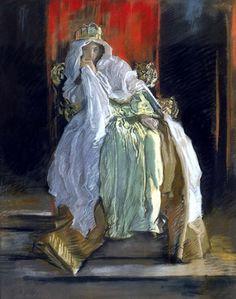 Edwin Austin Abbey (1852 – 1911):Reina Gertrudis.