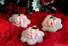 Ricetta veloce per preparare le tartine salmone e philadelphia. Preparazione con e senza Bimby. Antipasto di Natale. Finger food Capodanno