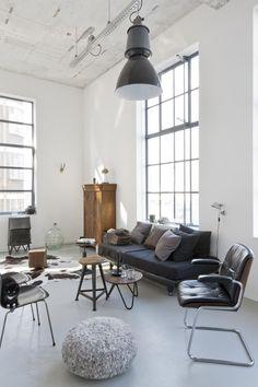 Le loft de Renee Arns à Eindhoven aux Pays - Bas